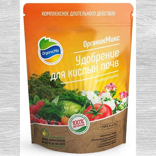 Удобрения Органик Микс для кислых почв изображение 1 артикул 79001