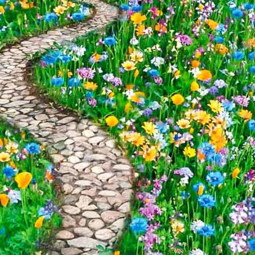 Газон цветущий Дорога к дому, смесь окрасок изображение 1 артикул 69864