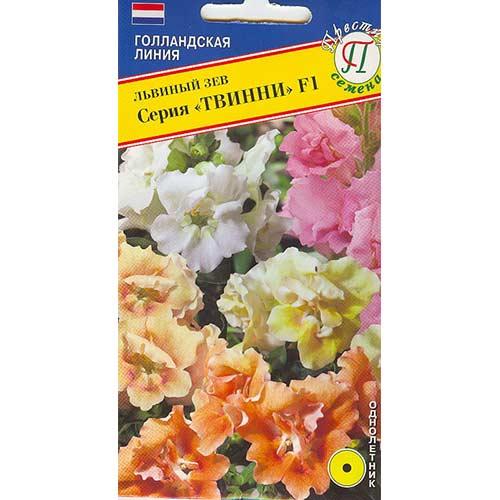 Львиный зев Твинни F1, смесь окрасок изображение 1 артикул 71471