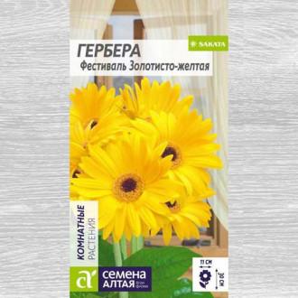 Гербера Фестиваль золотисто-желтая