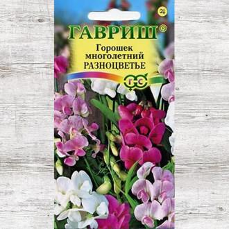 Горошек многолетний Разноцветье, смесь окрасок изображение 1