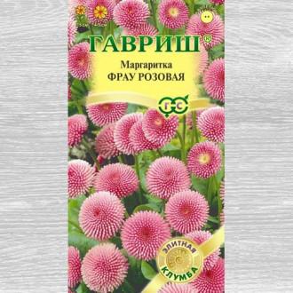 Маргаритка Фрау розовая изображение 4